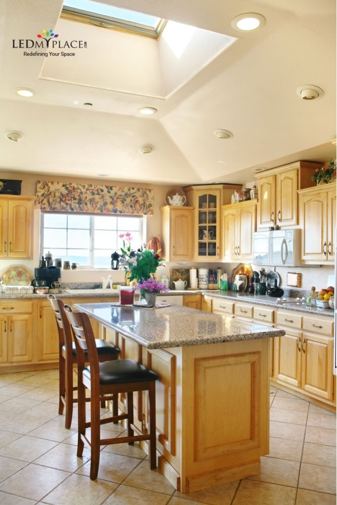 The Right Led Light With A Good Kitchen Design Creates A Better