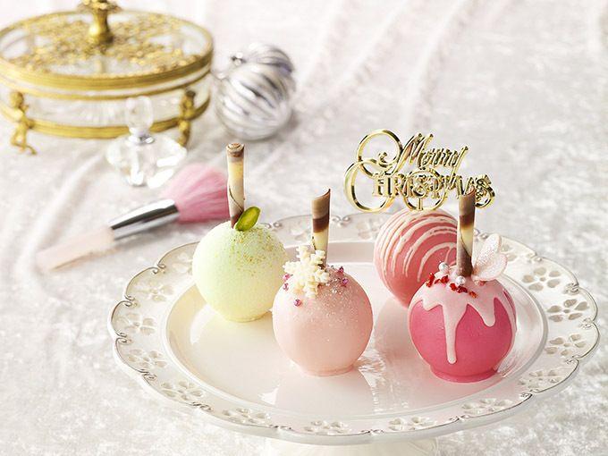 品川プリンスホテルの「ブーランジュリーシナガワ」から、ロリポップキャンディー型のクリスマスケーキ「+Happy Pinkロリポップル」が登場。2016年12月1日(木)から25日(日)までの期間限定で...