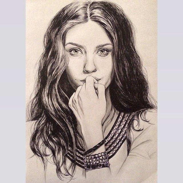 #actress #portrait