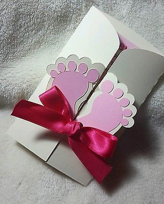 Baby Shower cards invitations personalized for boy/girl  Feet 10 invitations | Home & Garden, Greeting Cards & Party Supply, Greeting Cards & Invitations | eBay!