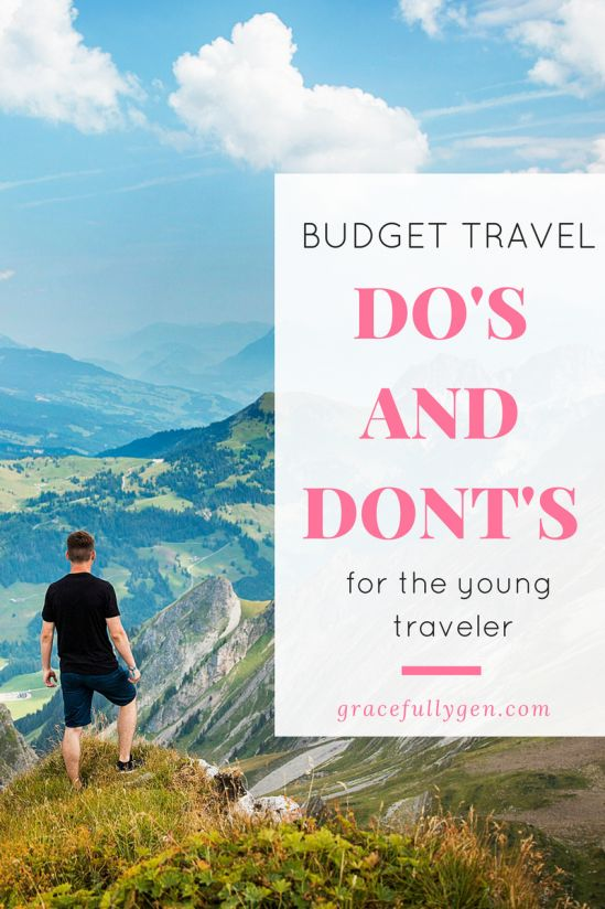 Want to travel, but don't have the funds? That's why I came up with these 13 Budget Travel Do's and Dont's. Your wallet will thank you.