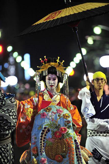 Oiran-dochu Festival, Japan おいらん道中
