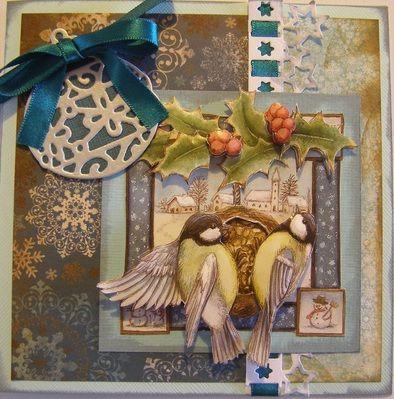 xmas birds made by me