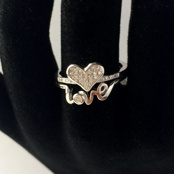 Love is in the air <3 #rings #silver #jewelry