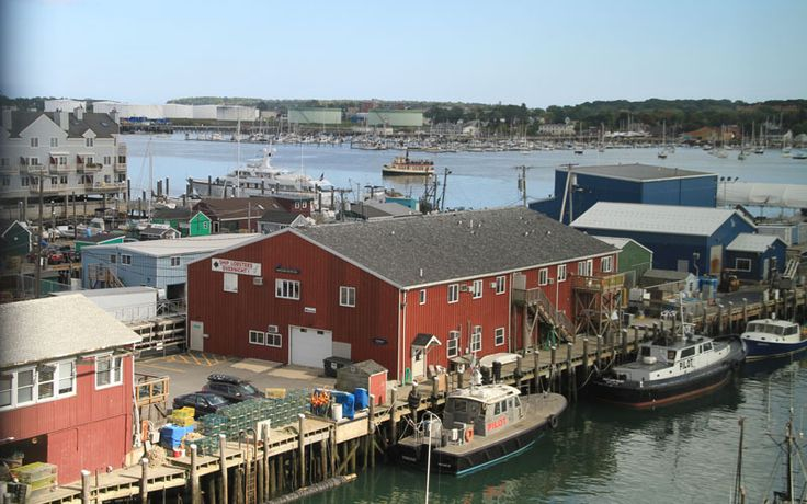 Overlooking the old Port. Learn all about Portland Maine - what to do, where to stay, when to visit! Maine vacation and lodging guide www.VisitMaine.net  #mainevacation #portlandME
