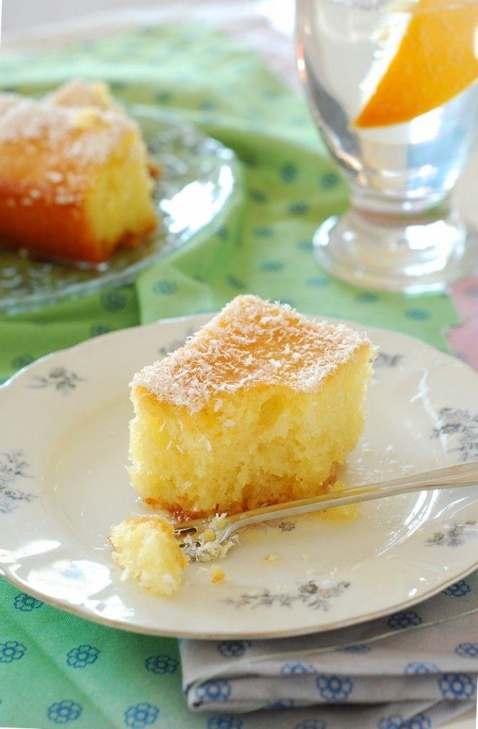 Gâteau orange (recette Turque)                              …