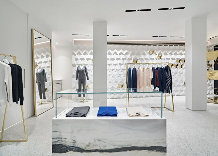 Urastudio creates minimalist clothing boutique in istanbul - Men s clothing store interior design ideas ...