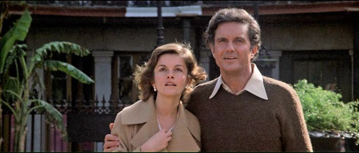"Geneviève Bujold & Cliff Robertson in Brian De Palma's""OBSESSION"" (1976)"