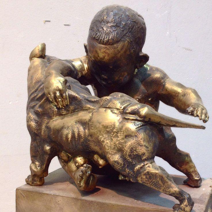 """""""Pryatki"""" TETERIN bronze 2014"""
