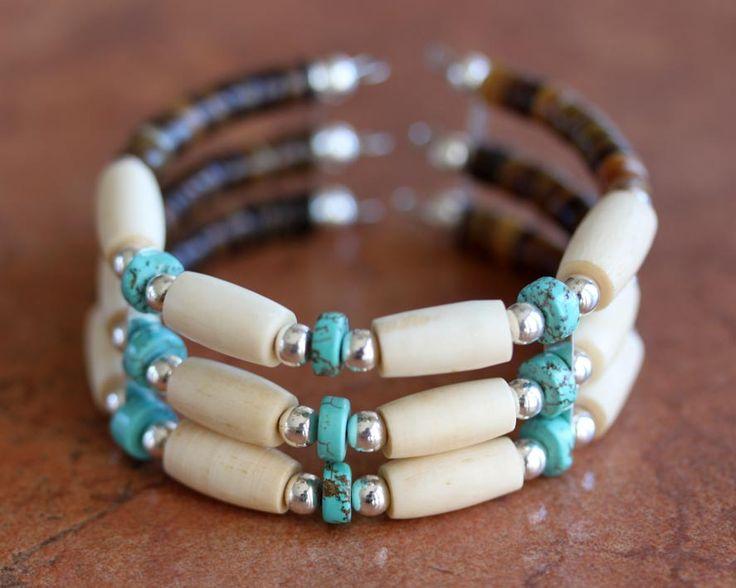 Navajo Native American Beaded Bracelet