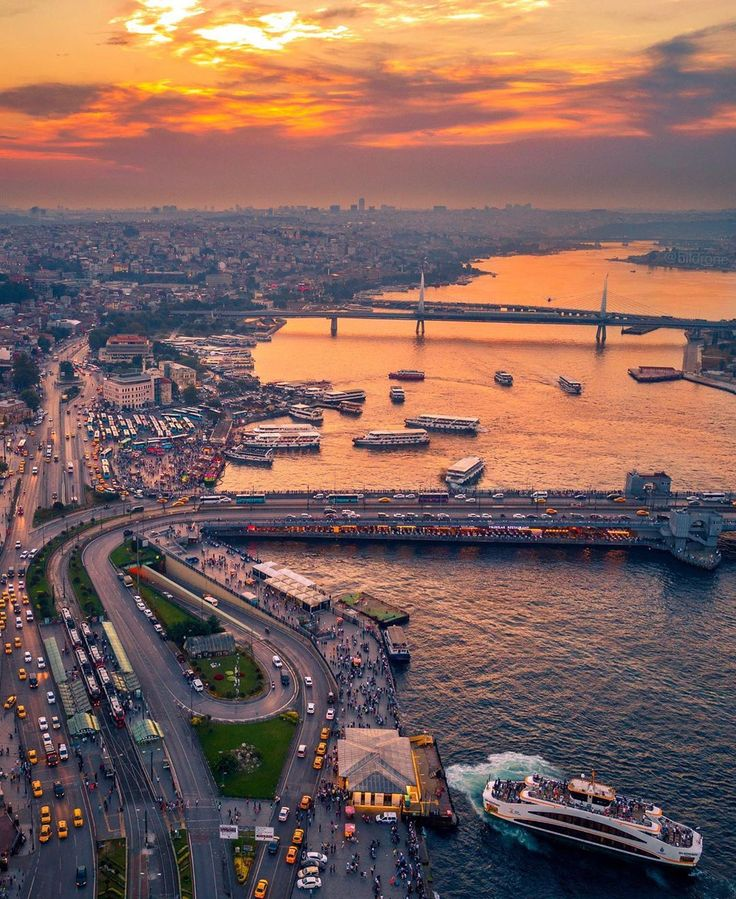 While leaving Istanbul, the day of silence …
