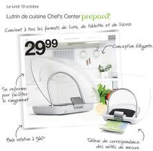 prepara Lutrin de cuisine Chef's Center de  29,99 $