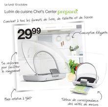 prepara Lutrin de cuisine Chef's Center de  29,99 $