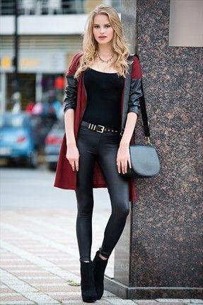 Trend: Sokak Modası by Pretty Mark - Kadın Tekstil - Siyah Tayt 1005657 %72 indirimle 24,99TL ile Trendyol da