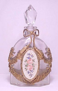 French vintage perfume bottle ~ This is beautiful!