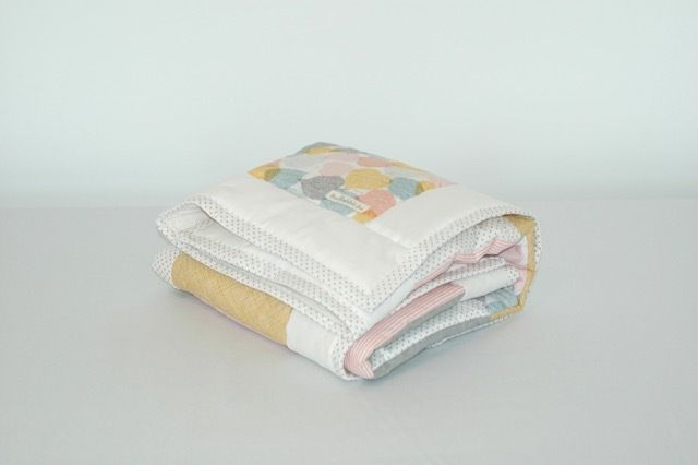 Image of Autumn Leaves Cot Quilt