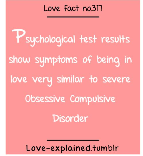 Psychological Test Results Show Symptoms Of Being In Love