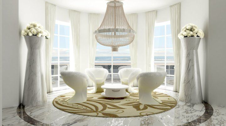 Beautiful white chandelier by ISAAC LIGHT_    www.isaaclight.com  /  #lighting #lobby #home #project #interiordesign