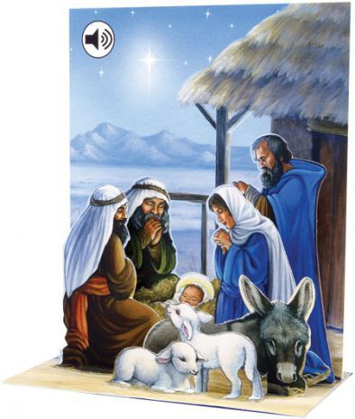 Up With Paper :: SS045 Nativity