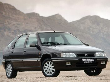 Citroën ZX Exclusive 5-door '1994–98