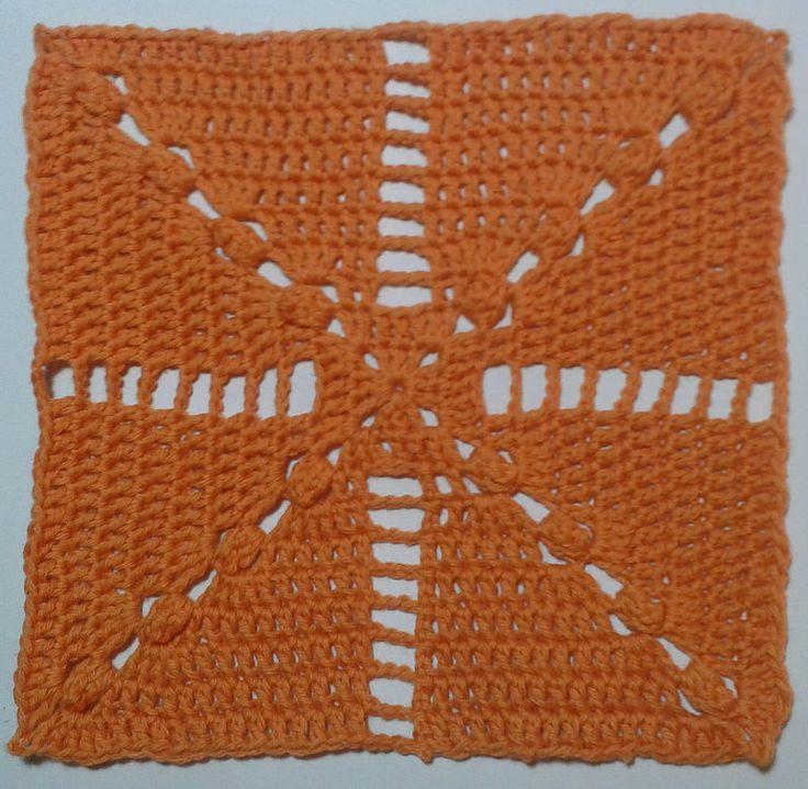 Scheepjes CAL week 10, licht oranje