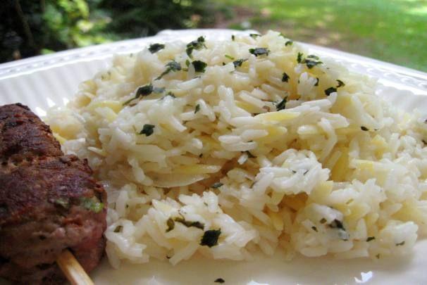 Greek Lemon Pilaf  Photo by gailanngLemon Rice Pilaf