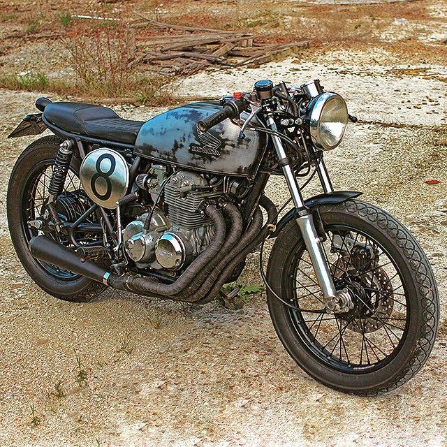 #cb400 #caferacer #condor #brat #motorbike #custom #hondacb400 #hondacb400f #honda #moto #vintage #ss #super #sport #ottonero #epoca #hondacaferacers #hondacaferacer #bratcafe @lellofani PH