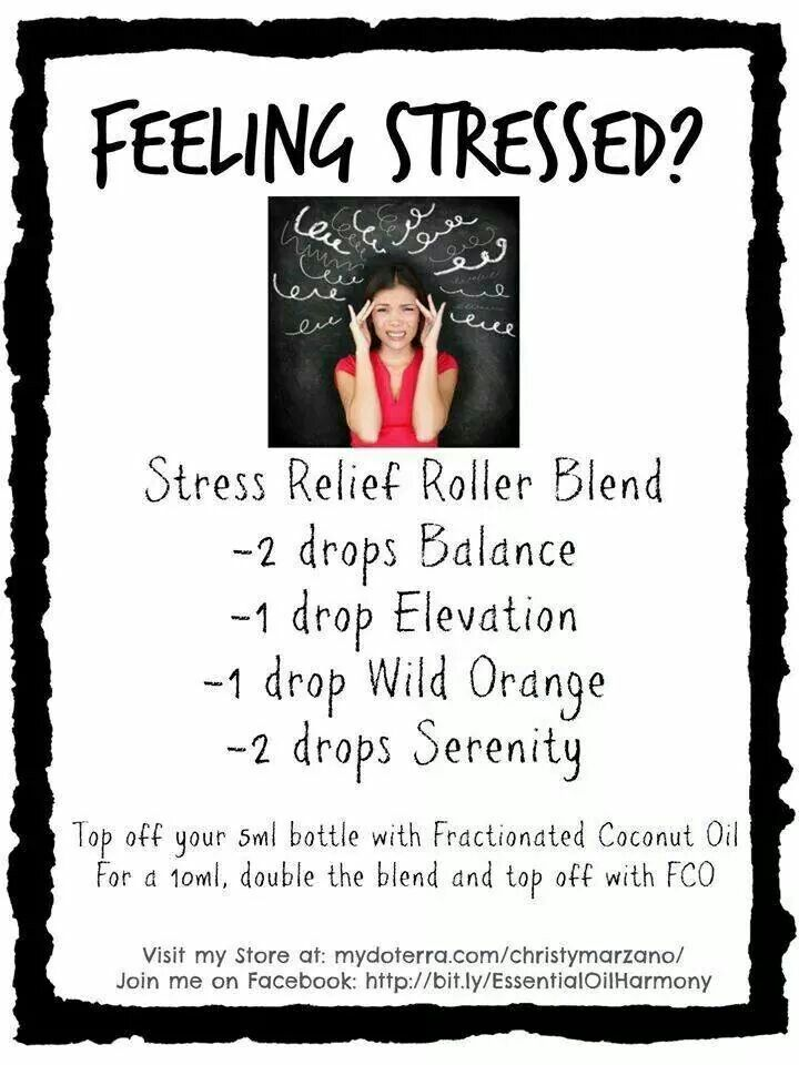 Stress Relief Rollerball Blend I Use Only Doterra S High