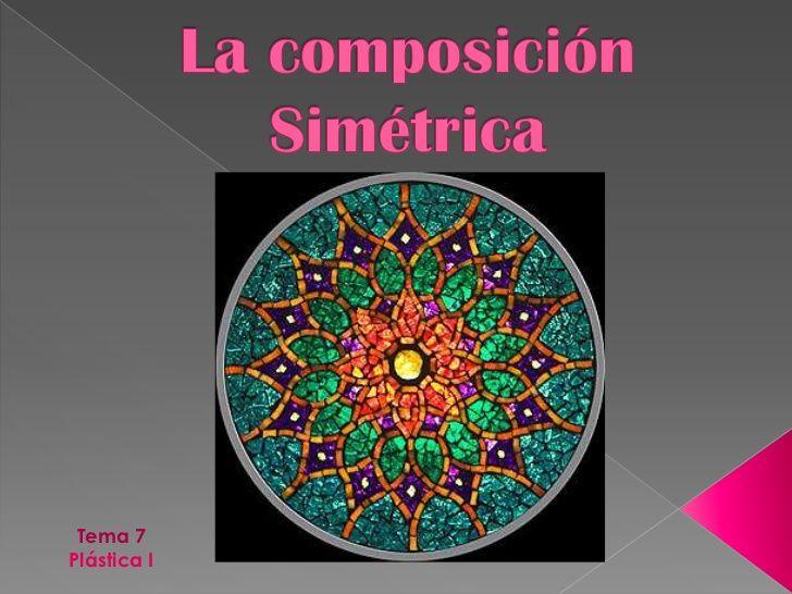 Resultado de imagen de composicion simetrica