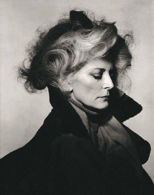 Carmen dell'Orefice (1931) - American actress and model. Photo by Irving Penn