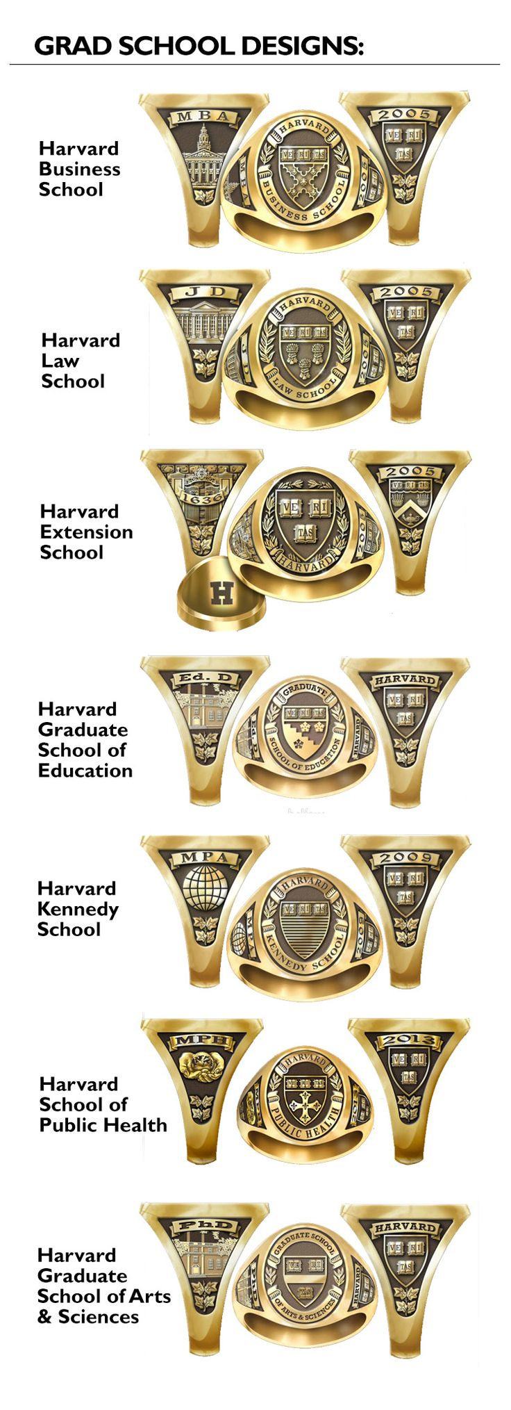 ring tone and school in valadium available personalized white crest keepsake two walmart class gold s medical rings men com yellow ip