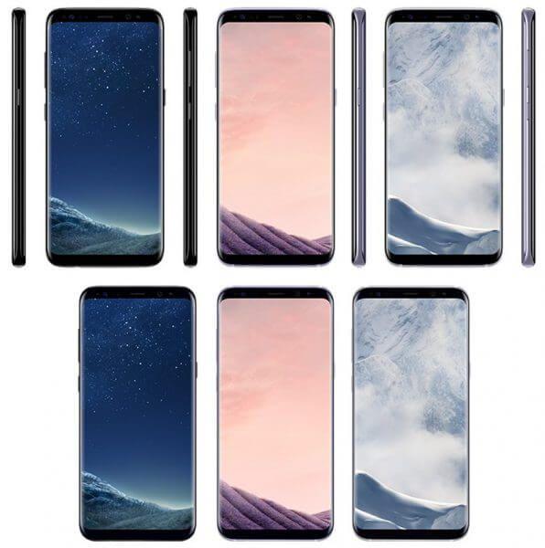 Samsung Galaxy S8: Pressebilder neue Farbvarianten und AKG-Kopfhörer geleakt