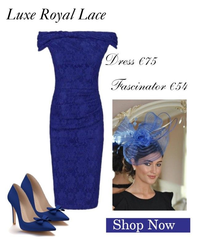 royal lace by virgoboutique on Polyvore featuring Shoes of Prey