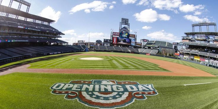 Colorado Rockies Opening Day at Coors Field on April 10, 2015