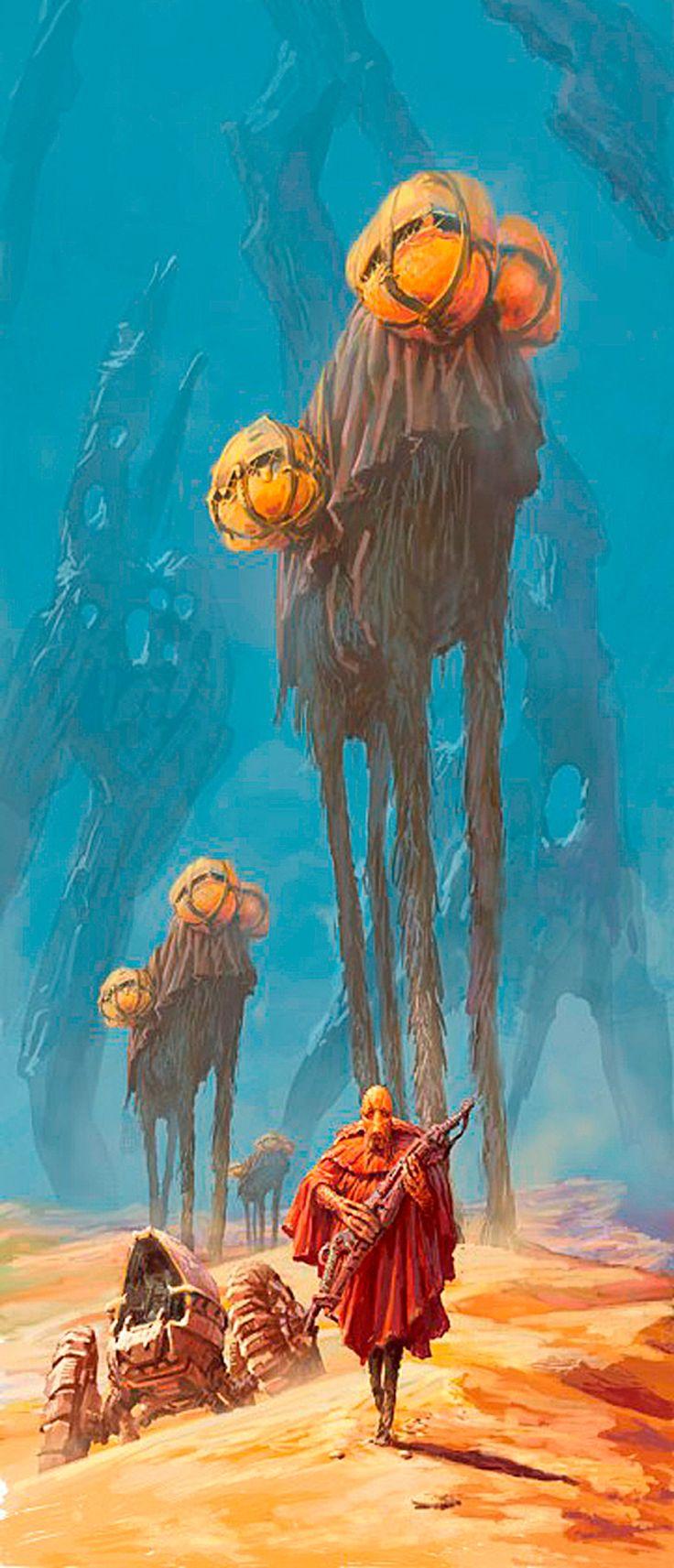 Igor Savin - #dune #artwork #art #scifi concept based on Dune?