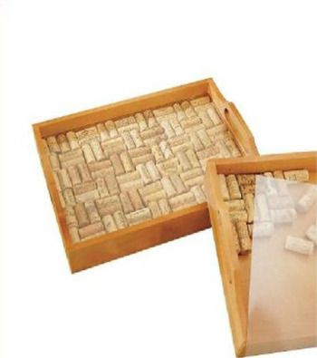 reciclado de corchos: Winecorks, Wine Corks, Wine Enthusiast, Cork Serving, Serving Trays, Craft Ideas, Diy