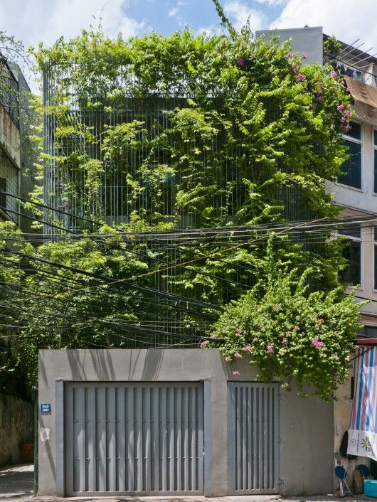 Green Renovation / Vo Trong Nghia Architects | ArchDaily