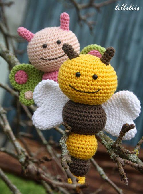 Comprar Bug Sonajeros patrón amigurumi - Amigurumipatterns.net