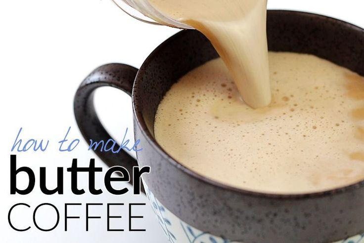 How to Make Butter Coffee - Bulletproof Coffee   Tasteaholics.com