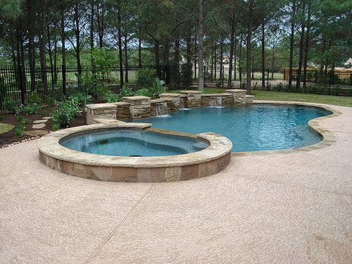 35 best images about pool water features on pinterest for Pool design 101
