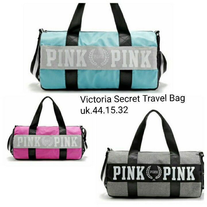 Tas Victoria Secret Travel Bag 6908 44x15x32 205rb