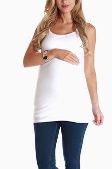 White Maternity Cami $16.99