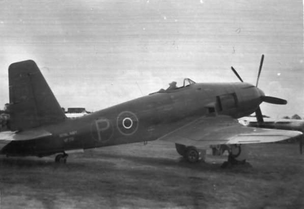 Blackburn 'Firecrest' VF172 – another ill-fated Firebrand ...