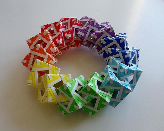 38 best christmas origami images on pinterest christmas. Black Bedroom Furniture Sets. Home Design Ideas