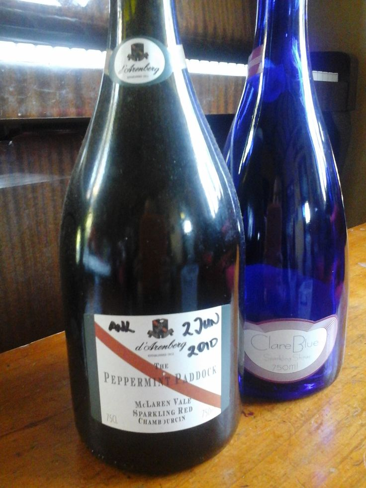 d'Arenburg The Peppermint Paddock, Sparkling Chambourcin, McLaren Vale, yum yum