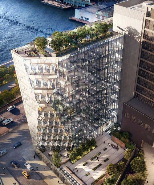 work to start on studio gang's 'solar carve' office tower in new york