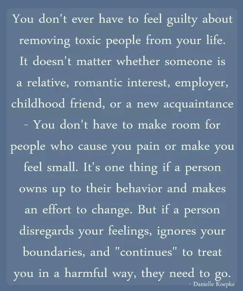 Quotes About Removing Toxic People Quotesgram