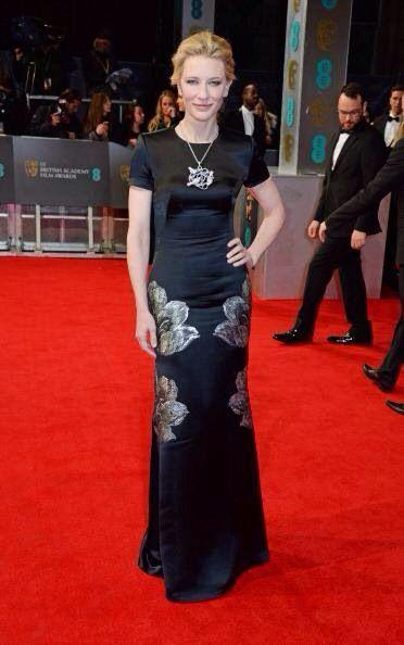 Best dress bafta 2014: cate blanchett in alexander mcqueen