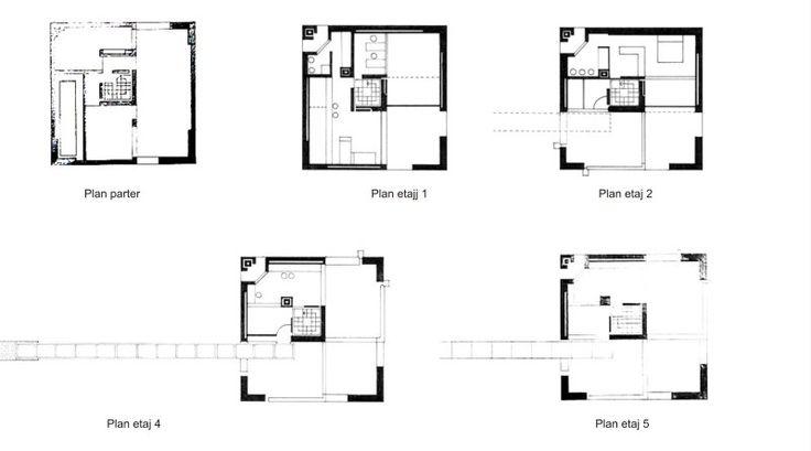 Casa Bianchi - Mario Botta | Studiu de caz - Ruxandra Micu Graphic/Web Designer Online Portfolio