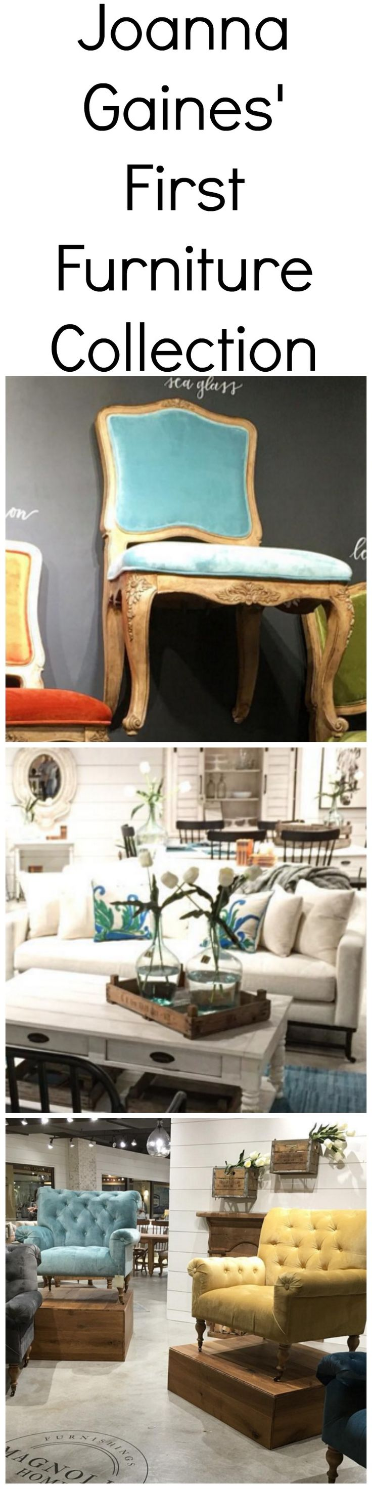 """The creative half of """"Fixer Upper"""" is offering her signature style for your home now, too."""